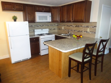 As our apartments become available we remodel them with new kitchens ! !