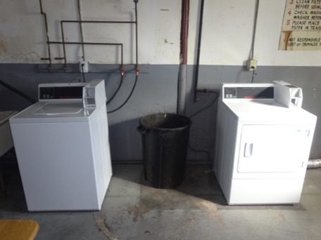 We have the convenience of an on-site laundry facility...